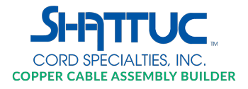 Shattuc Cord Specialties Copper Cable Assembly Builder;